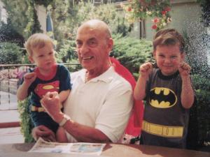 Super Hero Papa